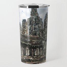 Bayon Temple, Angkor Thom, Cambodia Travel Mug
