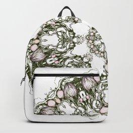 Apple garden mandala Backpack