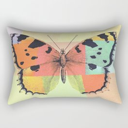 Aesthetic Abstract Pattern Butterfly Rectangular Pillow
