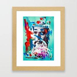 Plato painto Framed Art Print