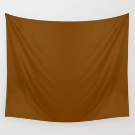 Solid Brown Chocolate Wall Tapestry
