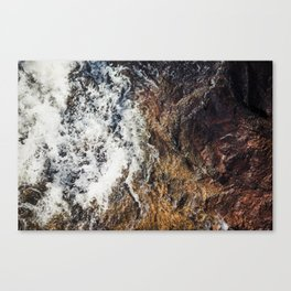 Make your own waves v2. Canvas Print
