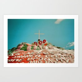 View of Mountain Art Print