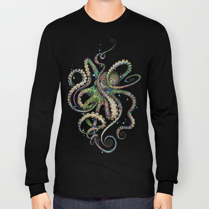 Octopsychedelia Long Sleeve T-shirt