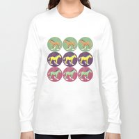 horses Long Sleeve T-shirts featuring Horses by Bluetiz