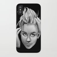 miley iPhone & iPod Cases featuring Miley Cyrus by anomaly alice