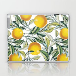 Lemon and Leaf Pattern VI Laptop & iPad Skin