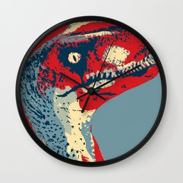 Clever Girl! Wall Clock