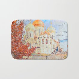 The Nativity of the Blessed Virgin Cathedral in the Conception Convent Bath Mat