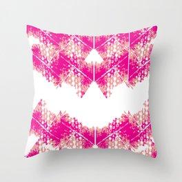 Bright urban texture pattern Throw Pillow