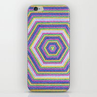bender iPhone & iPod Skins featuring Mind Bender by Abstract Graph Designs
