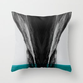Environment Drown Throw Pillow