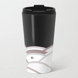 Abstract Taupe IV #kirovair #design #minimal #society6 #buyart Travel Mug