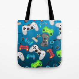 Video Games Tote Bag