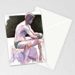 RYAN, Semi-Nude Male by Frank-Joseph Stationery Cards