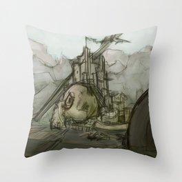 Giant's Crown Throw Pillow
