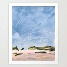 Dune Sky, Cape Cod Art Print