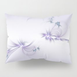 Fey Lights Fractal in Violet Pillow Sham
