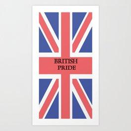 British Pride Art Print