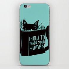Cat Reader Advice iPhone & iPod Skin