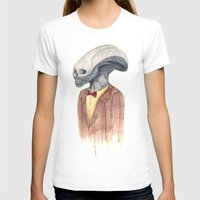 xenomorph T-shirts featuring Xenomorph by Monsters in Plaid