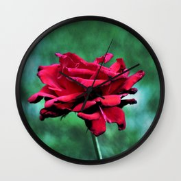 Withered Beauty (ROSE) Wall Clock
