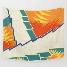 AGONDA Art Deco Modern: FISH BOWL Wall Tapestry