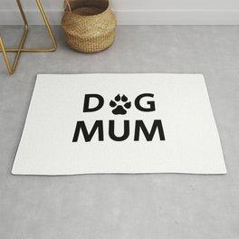 DOG MUM - British spelling Rug