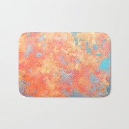 Summer Rain - Original Abstract Art by Vinn Wong Bath Mat