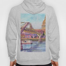London Millenium Footbridge Hoody