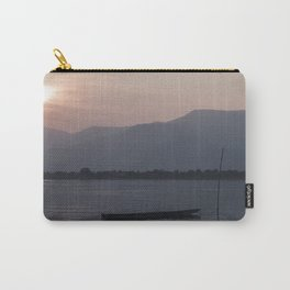 Sunset at Mekong Carry-All Pouch