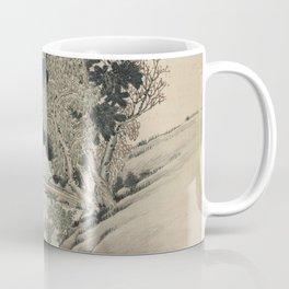 Vintage Japanese Landscape Painting Coffee Mug
