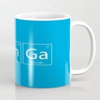 bazinga Mugs featuring Bazinga by Nicolasfl