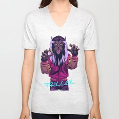 THRILLER - Werewolf Version Unisex V-Neck