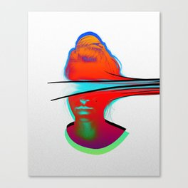 Be Fluid Canvas Print