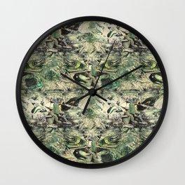 Debs Green Wall Clock