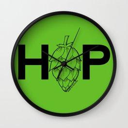 Hop Wall Clock