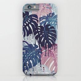 Monstera Melt iPhone Case