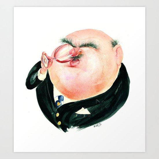 Wine Snob No.2 Art Print