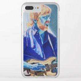 Trey Anastasio in Blue Clear iPhone Case