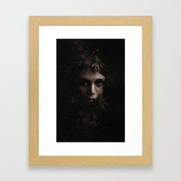 I wish I had meant something Framed Art Print