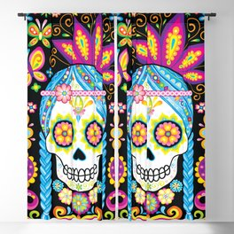 Sugar Skull (Azúcar) Blackout Curtain