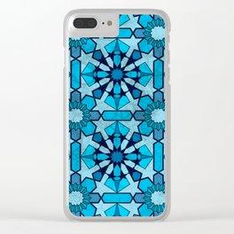 Ocean Mosaic Clear iPhone Case