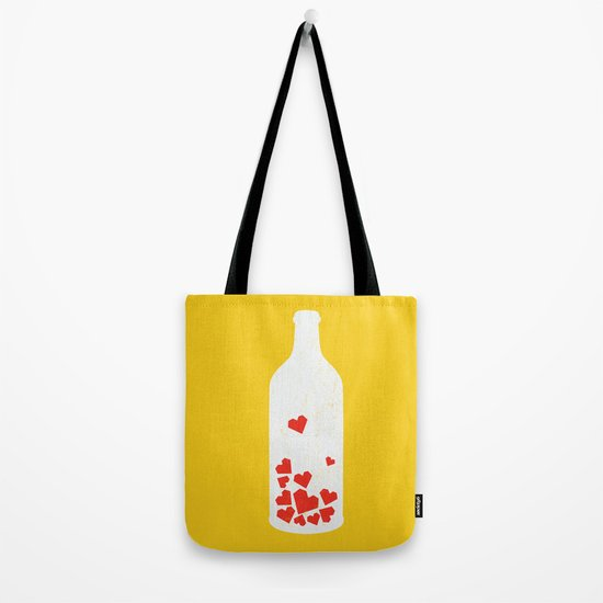 message in a bottle tote bag by picomodi society6. Black Bedroom Furniture Sets. Home Design Ideas