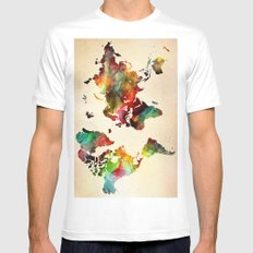 A Painted World Mens Fitted Tee White MEDIUM