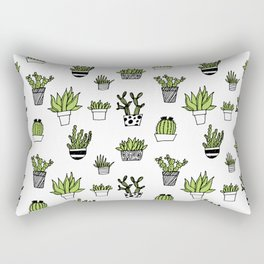 Catus patten Rectangular Pillow