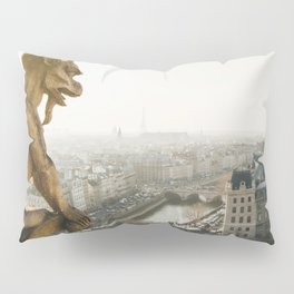 Gargoyle in Paris Pillow Sham
