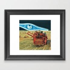 strange harvest Framed Art Print