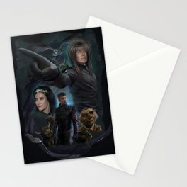 Return To Labyrinth-Movie Poster Stationery Cards