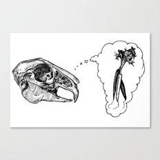 Hungry Bones Canvas Print
